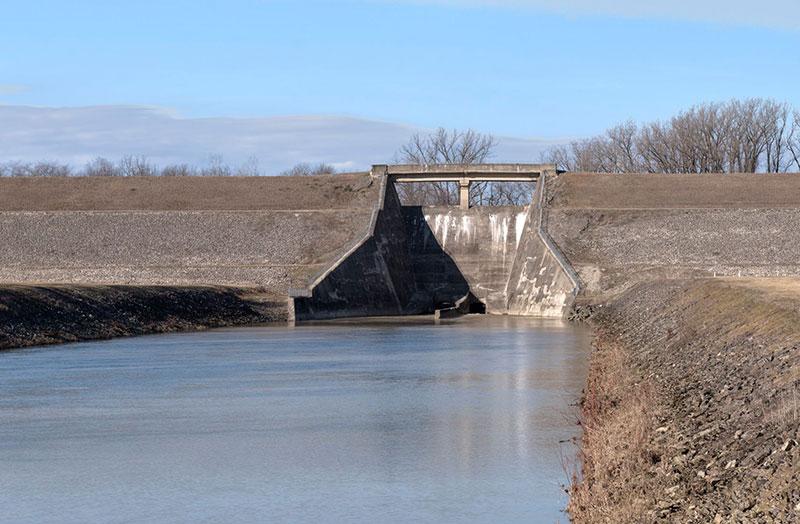 Lockington Dam
