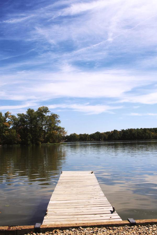 Dock at Lake Loramie